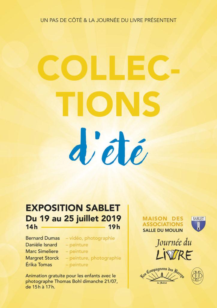 Exposition sablet Collection d'été