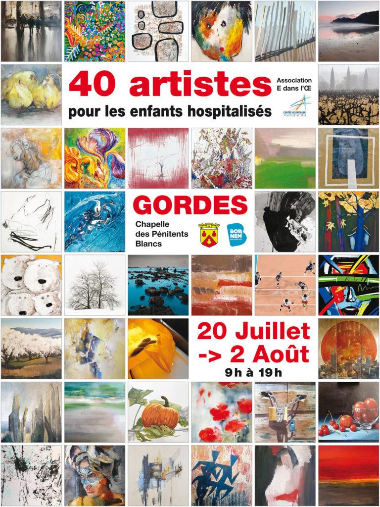 Exposition 40 Artistes Gordes